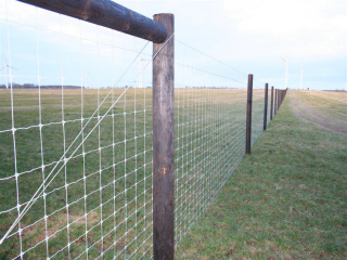 MILU a professional execution of the mesh fence and electric fence